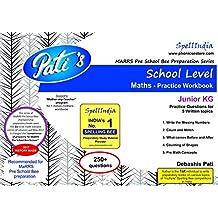 Practice Workbook : MaRRS Pre School Bee exams - Junior KG - School level - Maths ... for pre purchase queries whatsapp 9820354672