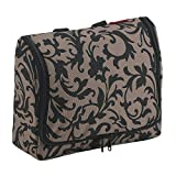 Spacious toiletry bag that is extremely convenient on long trips