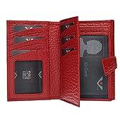 VOi-Best-seller-Portafoglio-donna-CERVO-70249-Pelle-vacchetta-rilievo-GRANATA-15x10x4