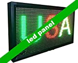 Gowe IP65Outdoor Programmierbare LED Panel, Werbung Display mit RGY Farbe und Größe 39,9x 71,9cm