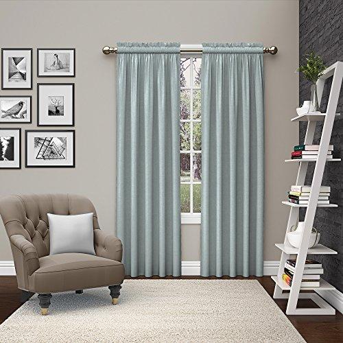 Eclipse Curtains Paar to go 15615056X 084spa Bank 142° cm Brechstange durch 84Zoll Fenster Vorhang Paar, SPA -