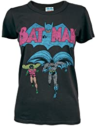 Junk Food Ladies Batman and Robin T Shirt