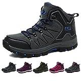 TUCSSON Chaussures de Randonnée pour Hommes Femmes Bottes d'escalade Bottes de randonnée Idéales pour le Trekking et les Promenades
