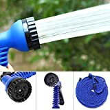 AMAZING 75 Ft /22.5 M Extra Long Magic Expandable Garden Wash Car Bike With Spray Gun And 7 Adjustable Modes ( 75FT & 22.5M ) - Multi Color
