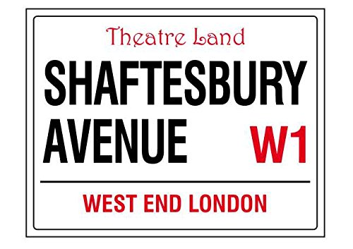 Shaftesbury Avenue London - Llavero acrílico Estilo