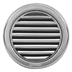 "Circular Stainless Steel Air Vent Grille Cover Ø100mm(4"") Ventilation Grill Cover"