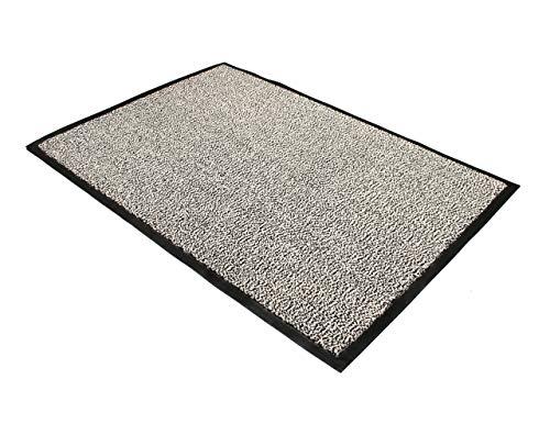 """Doortex Schmutzfangmatte Fußmatte """"advantagemat"""", 90 x 120 cm, Grau, für den Innenbereich"""