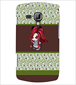 PrintDhaba Cartoon D-2752 Back Case Cover for SAMSUNG GALAXY S DUOS S7562 (Multi-Coloured)