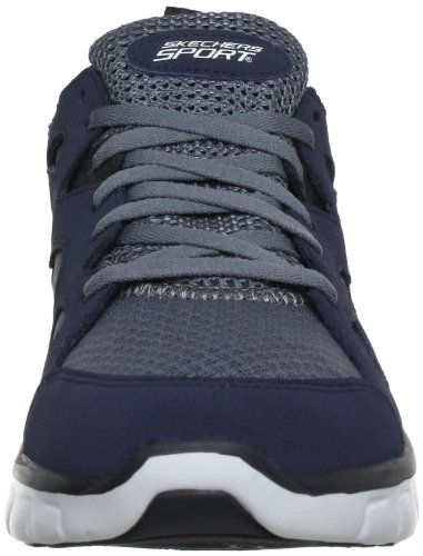 Skechers SynergyGridiron Herren Sneakers Blau (NVGY)