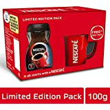 Nescafé Classic Coffee, 100g with Free Red Mug