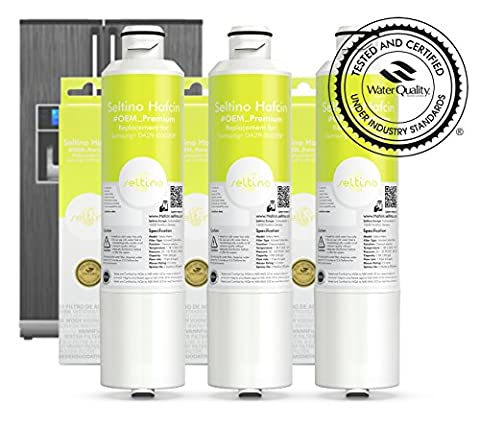 3x Seltino HAFCIN - TRIPPLE PACK of water filter for