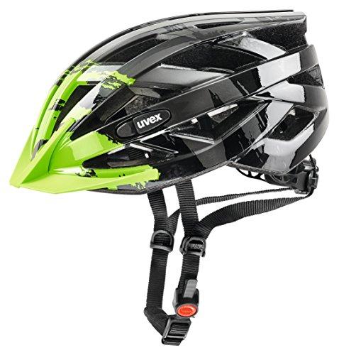 Uvex i-vo c Fahrradhelm, Dark Silver-Green, 56-60 cm