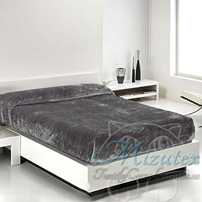 Manta raschel grande alta calidad para cama de 135 y 150, medidas 220x240cms