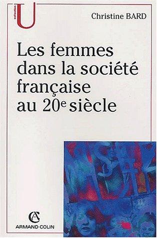 Les femmes dans la société française au 20ème siècle
