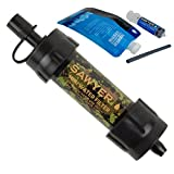Sawyer Products SP107 Mini Single Water Filtration System - Camouflage