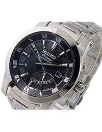 Reloj Seiko Premier Srn039p1 Hombre Negro