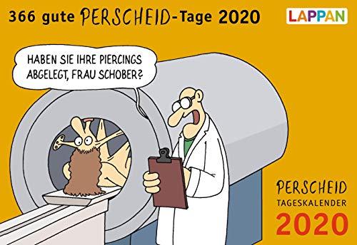 366 gute Perscheid-Tage 2020: Tageskalender (Perscheids Abgründe)