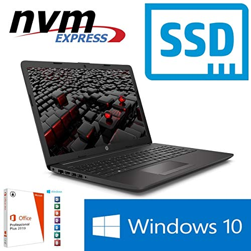 Notebook 255 G7 - 16GB RAM - 1000GB SSD - Windows 10 PRO + MS Office 2016 PRO - CD/DVD - 39cm (15.6