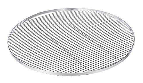 Grillrost Edelstahl 80 cm Schwenkgrill Dreibein mit 3 Löcher für Hacken im Aussenring zum Aufhängen