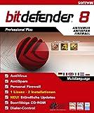 BitDefender 8 - Professional Plus (1 Lizenz, 2 Installationen)
