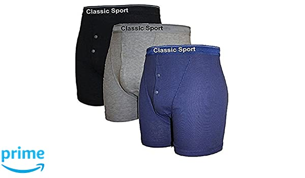 Classic Sport 3 Pairs of Boys Neon Band Boxer Shorts Underwear Briefs