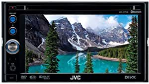 JVC KW-AVX640 Multimedia-Center (DVD/CD-Player, 15,4 cm (6,1 Zoll) Widescreen Monitor, Touchscreen, USB für iPod/iPhone) schwarz