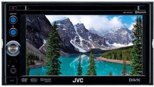 JVC KW-AVX640 Multimedia-Center (DVD/CD-Player, 15,4 cm (6,1 Zoll) Widescreen Monitor, Touchscreen, USB für iPod/iPhone) schwarz
