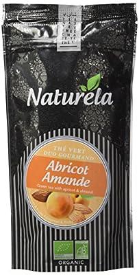 NATURELA Thé Vert Abricot Amande 80 g - Lot de 6