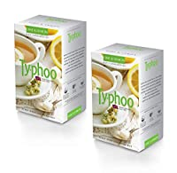 Typhoo Lime and Lemon Flavoured Tea, 25 Tea Bags (Pack of 2)