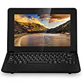 Sanjoo Ordinateur portable Mini Pc Netbook - Google Android 5.0 - Wifi - Ethernet - Webcam - 4 GO DD 512 Ram - Ecran 10.1 pouces - Noir