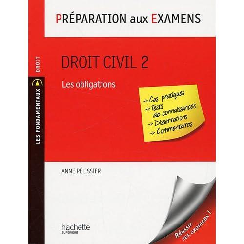Droit civil 2 : Les obligations