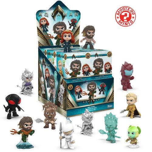Funko Mystery Mini Aquaman,  Figura de Vinil, Multicolor, 31190 - 1 Figura al Azar