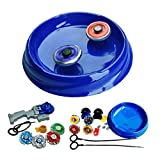Once More Plastic Big Bey Stadium Arena with 8 in2 Beyblade with Handle