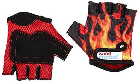 kiddimoto GLV021S - Sport und Fahrrad Handschuhe für Kinder Design,
