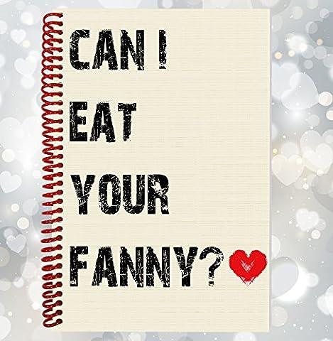 Puis-je manger votre Fanny?–drôle, Rude ordinateur portable, cadeau Saint Valentin