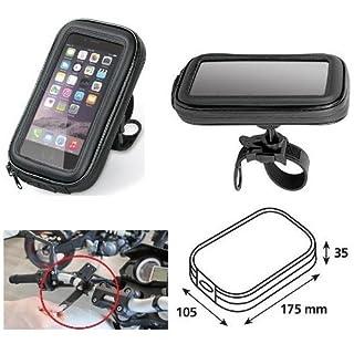 Tür Schutzhülle Smartphone Handy Tasche von Lenker 90423Lampa Fahrrad Motorrad für Gilera SMT 502004–04