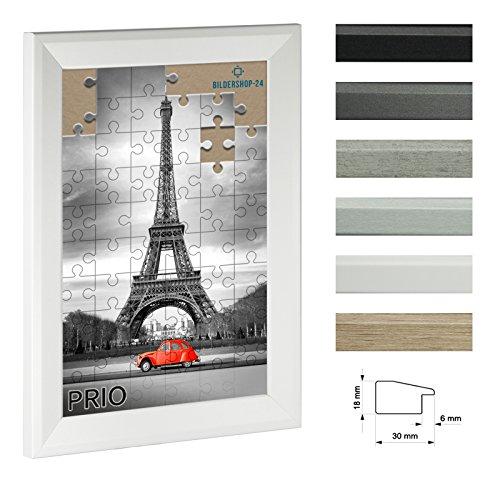 Cadre á puzzle PRIO 60x84cm Blanc (mat) pour 1500-2000 Pièces antireflet*