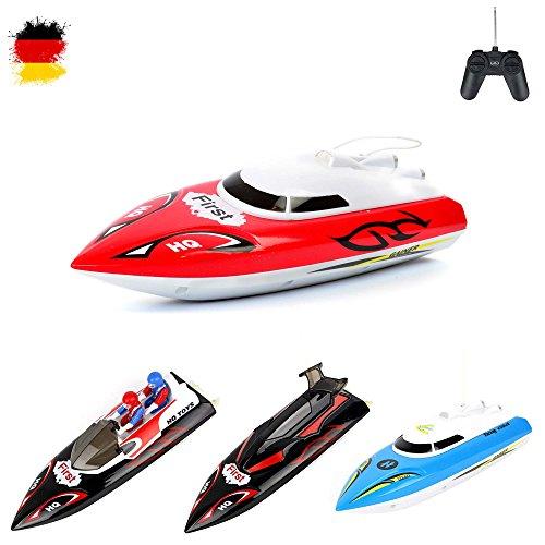 RC ferngesteuertes mini Speedboot, Racingboot, Schiff, Boot, optimal für Einsteiger, Komplett-Set inkl Fernsteuerung