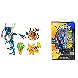 Pokemon XL Multipack / Actionfiguren / Sammelfiguren Kern von Zygarde, Quajutsu, Pikachu und Dedenne