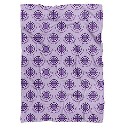 Queen of Cases Hawkeye Logo Avengers Superhero Inspired Fleece Blanket - Mini Fleece Blanket 35x27in - Fleece Decke -