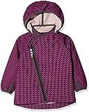 Racoon Baby-Mädchen Jacke Mille Softshelljacke (Wassersäule 5.000), Mehrfarbig (Dark Purple DAR), 86