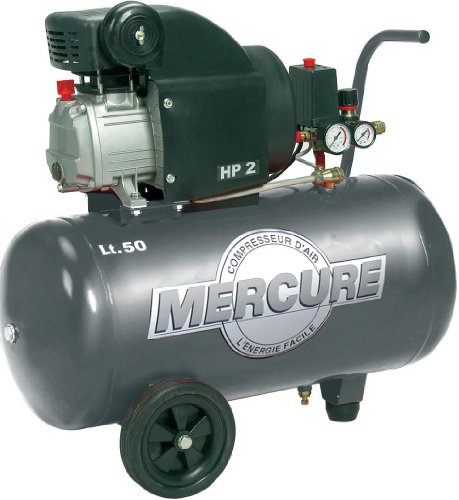 Mercure 425702 Compresseur 50 L 2 hp mercure