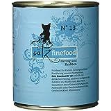 Catz finefood Katzenfutter No.13 Hering und Krabben 800 g, 6er Pack (6 x 800 g)
