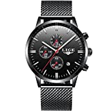 Best Chronograph Watches - Mens Watch Slim Wrist Watches for Men Fashion Review