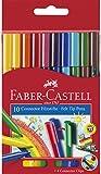 Faber-Castell 155510 - Filzstift Connector Pen, 10er Kartonetui