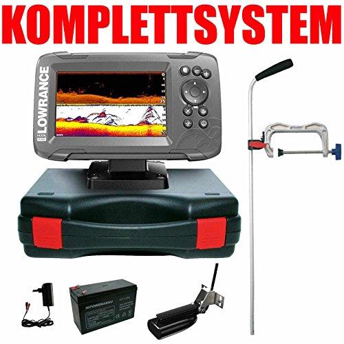 Lowrance Echolot GPS Portabel Profi - Hook2 5 SplitShot HDI Chirp Combo GPS Lowrance Combo Gps