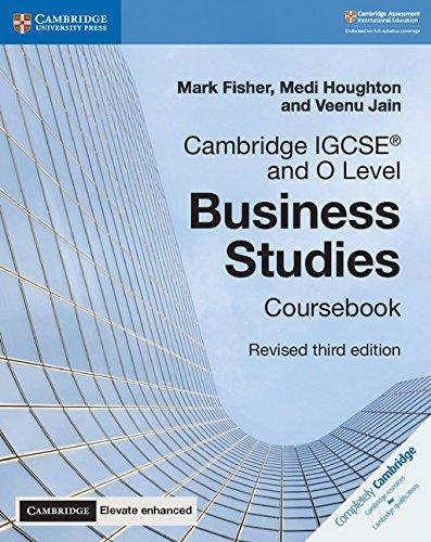 Cambridge IGCSE and O Level Business Studies. Coursebook. Con Contenuto digitale (fornito elettronicamente) (Cambridge International IGCSE) por Mark Fisher