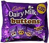 Cadbury Dairy Milk Buttons Chocolate Treatsize Bags 170 g