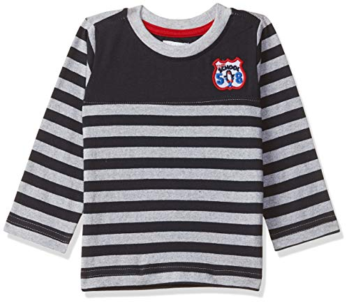 Donuts by Unlimited Baby Boys' T-Shirt (276920916_Navy_12M_Navy_12m)