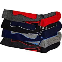 4 x Boys Kid Children Thermal Ski Knee High Warm Wool Blend Socks